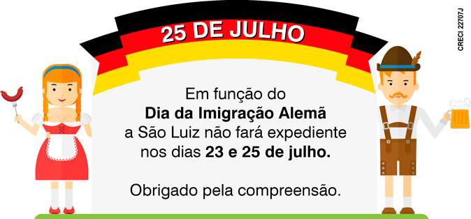 Feriado da Imigra��o Alem� - http://www.saoluiz.imb.br/sao_luiz/noticias/feriado-da-imigracao-alema/37